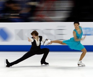 figure skating, ice skating, and photography image