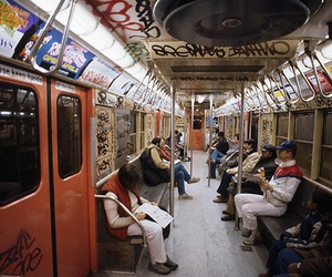 new york, city, and subway image