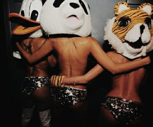 cool, girls, and masks image