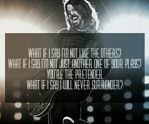 bands, dave grohl, and foo fighters image