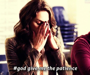 pll, patience, and pretty little liars image