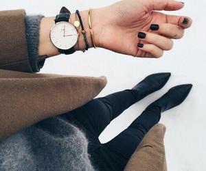 coat, minimal, and style image