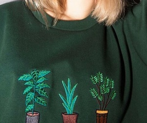 plants, fashion, and green image