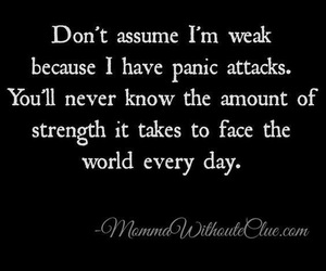 attack, panic, and quotes image