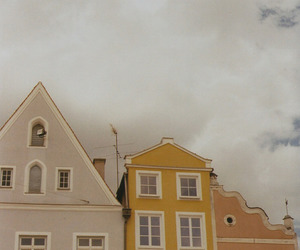 yellow, aesthetic, and Houses image