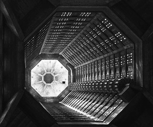 cyberpunk, laboratory, and space image
