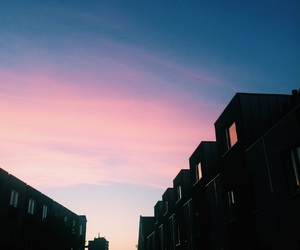 sky and pink image