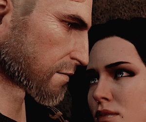 true love, geralt of rivia, and the witcher image