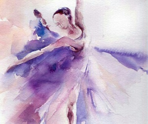 ballet and watercolors image