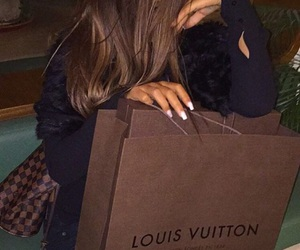 girl, luxury, and Louis Vuitton image