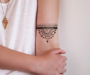 girl, tattoo, and Tattoos image