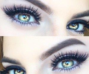 eyeshadow, lips, and make up image
