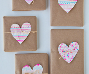 heart, diy, and gift image