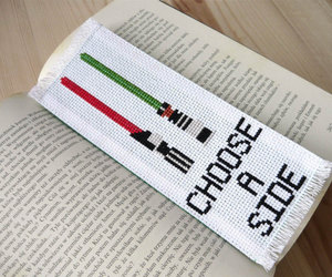 book worm, cross stitch, and etsy image