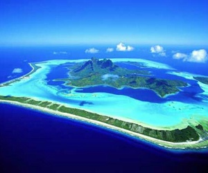 beach, bora bora, and Island image