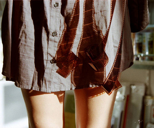 girl, film, and legs image