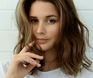 hair, beauty, and brown image