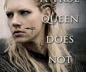 vikings, gueen, and lagertha image