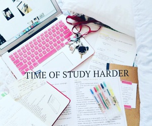 study, examen, and time of image