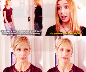 buffy, willow, and never leave me image