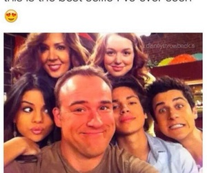 selena gomez, wizard of waverly place, and david henrie image