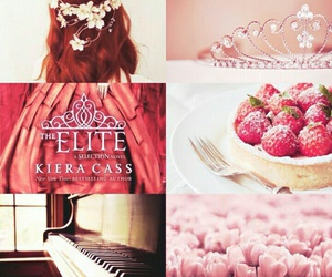 book, the elite, and kiera cass image