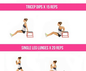 bench, exercise, and exercises image