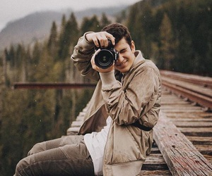 guy and photography image