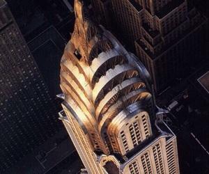 dark, gold, and city image