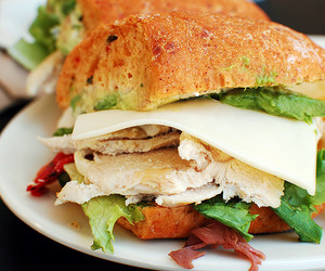 food, yum, and sandwich image