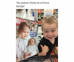 funny, baby, and lol image