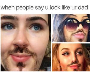 beard, funny, and lol image
