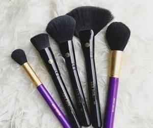 blush brush, Brushes, and cosmetics image