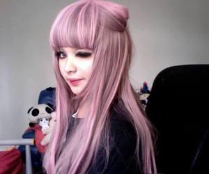 hair, kawaii, and cute image