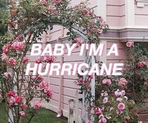 pink, hurricane, and grunge image