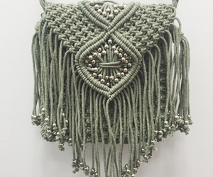 bags, fringe, and spring image