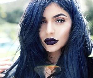 hair, lips, and kardashians image