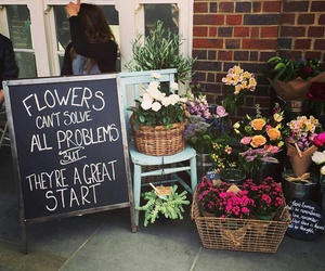 flowers and problems image