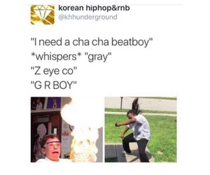 gray, kpop, and oppa image