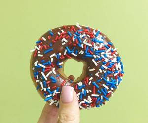 chocolate, krispy kreme, and donut image
