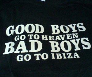 bad, boys, and heaven image