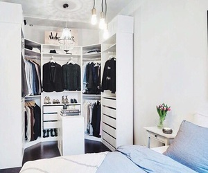room, closet, and clothes image