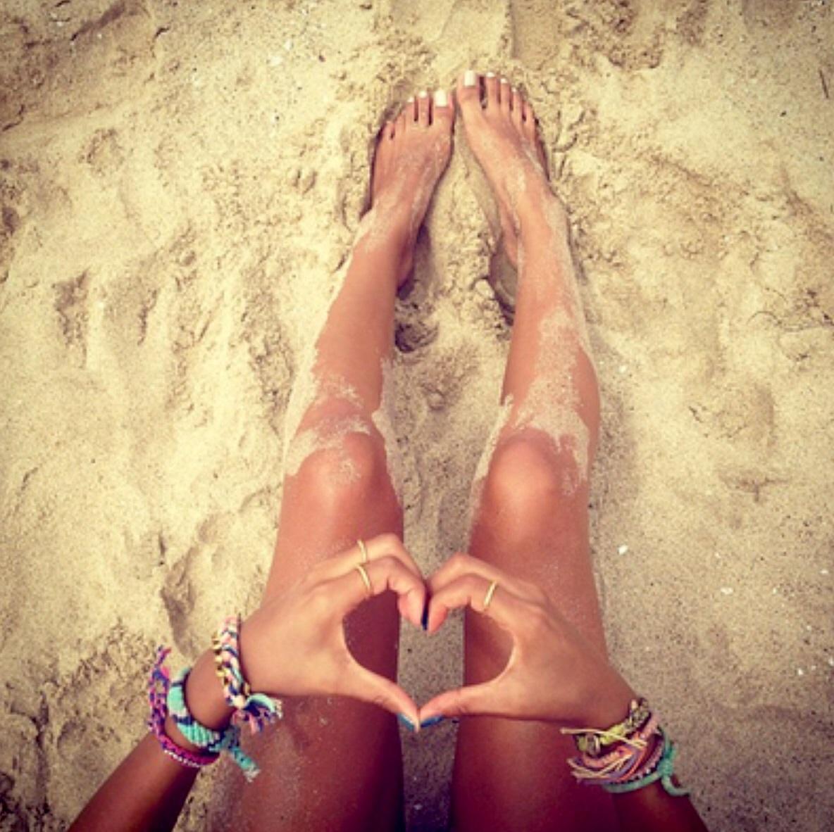 beach, bracelets, and tan image