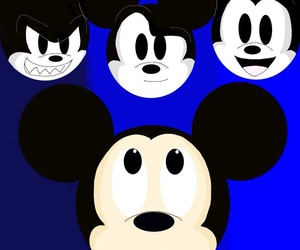 disney, kawaii, and mickey mouse image