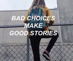 quotes, grunge, and bad image