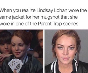 funny, lindsay lohan, and the parent trap image