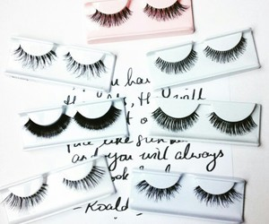 eyelashes, falsies, and eyesmakeup image