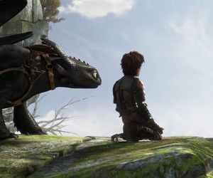 how to train your dragon, hiccup, and httyd image