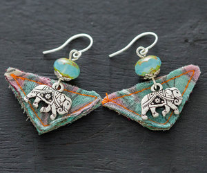 etsy, pink and blue, and handmadejewelry image