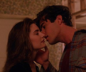 kiss, love, and Twin Peaks image